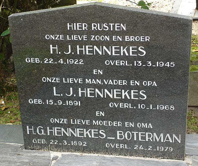 H.J.  Hennekes
